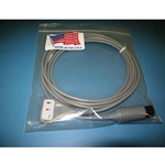 New 3 Lead, 6-Pin EKG / ECG Cable for Spacelabs, Invivo & Others
