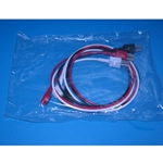 New 3 Lead EKG Wires with Snap Ends for Hewlett Packard / Agilent / Philips Patient Monitors