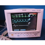 Philips Viridia V24CT Color Multi-Parameter Transport Patient Monitor