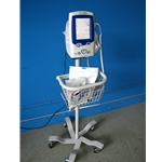 Welch Allyn LXi Spot Vital Signs Monitor with  NIBP, Temperature,  SpO2 & Rolling Stand ~ Model 45NT