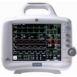 GE Dash 3000 Multi-Parameter Color Patient Monitor
